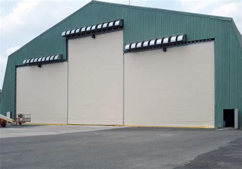 fabric fold  hangar doors  aircraft hangars