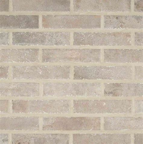 taupe brick 2 1 3 in x 10 in glazed porcelain floor and