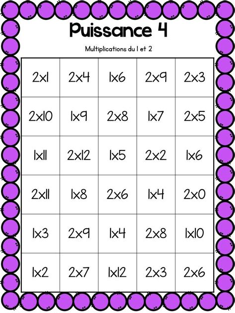jeux de tables de multiplication gratuit les 25 meilleures id 233 es de la cat 233 gorie jeux sur les multiplications sur enseigner