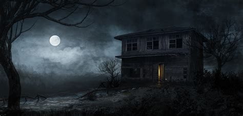 Background Haunted House by Haunted House Background 55 Images