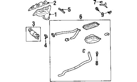 Cadillac Exhaust System Exhaust Components