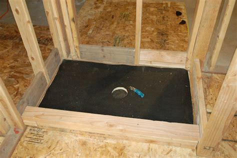 how to build a shower how to build a tile shower pan icreatables com