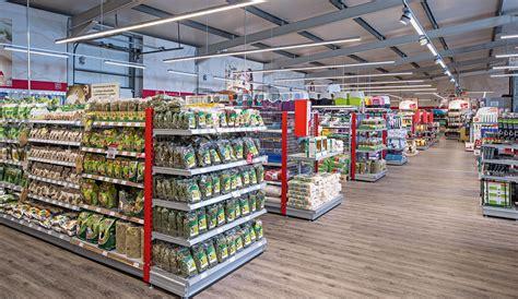 cuisine shop food sales areas shop retail applications trilux