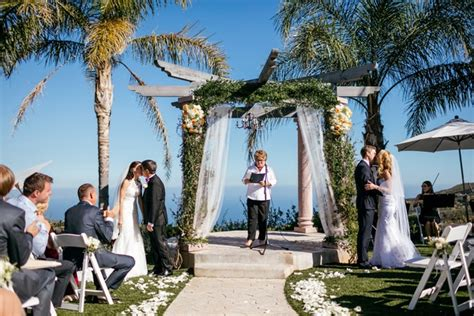 Sisters Host Double Wedding At Outdoor Venue In Malibu