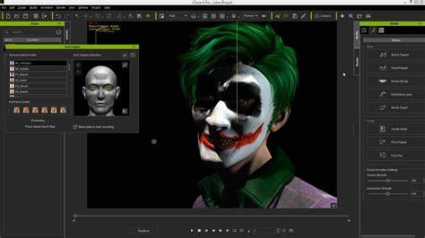 iclone character creator tutorial custom facial texture