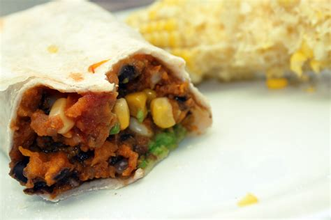 vegetarian burrito killacooks good eats hot treats just another