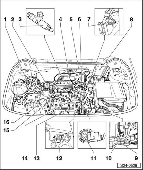 Skoda Fuel Pressure Diagram by Skoda Workshop Manuals Gt Fabia Mk1 Gt Engine Gt 1 2 40 1 2