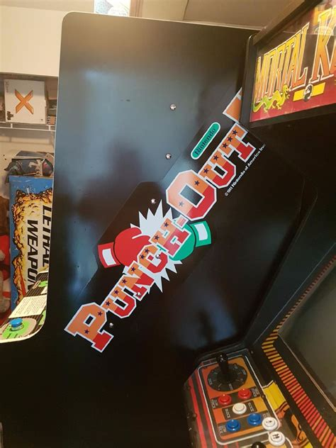 Very Rare Nintendo Punch Out Arcade Game W Dual Screen