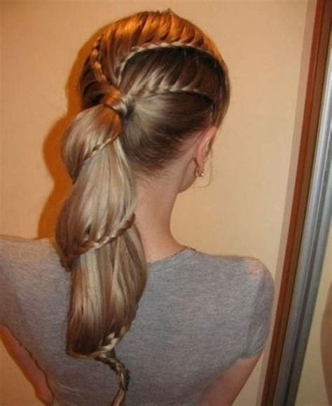 cool braided hairstyles awesome hair pinterest my