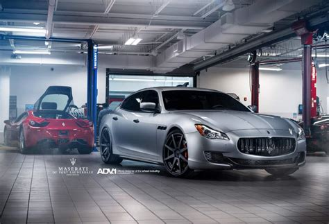 maserati modified maserati quattroporte custom wheels adv 1 08 mv2 21x9 0