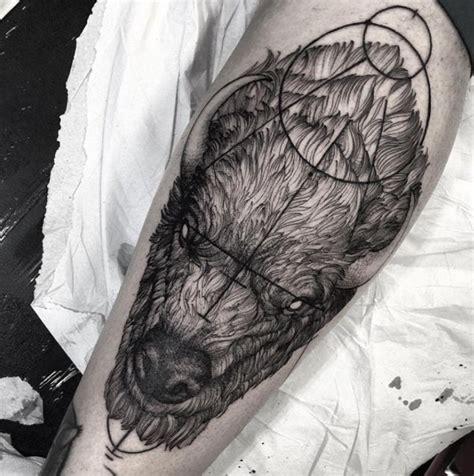 Bison Tattoo By Fredao Oliveira  Tattooblend  €� Tattoos