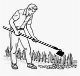 Hoe Gardener Pngitem Hoes sketch template