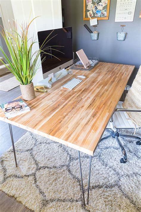 bureau diy bricolage un bureau avec une planche et 2 trteaux planche
