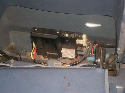 ford ranger wd control module