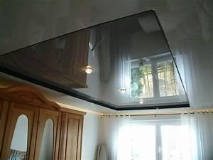 Hochglanz Decke renovieren FP Trockenbau • Spanndecken