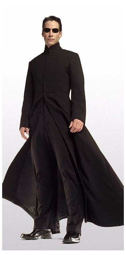 Matrix Keanu Reeves Coat Reloaded Neo Suit