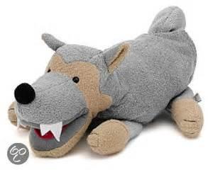 wanneer knuffel in bed bol sterntaler handpop wolf sterntaler