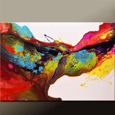 Abstract Art Painting 36x24 Canvas Original Contemporary