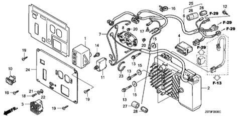 Honda Eu2000i Parts Diagram