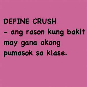 Quotes About Crush Tagalog. QuotesGram
