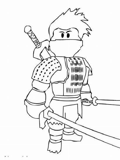 Roblox Coloring Pages Printable Character