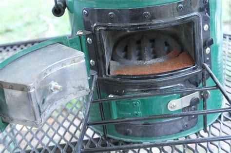 rocket stove miser prepping cooking left gunsamerica fuel rust chicken
