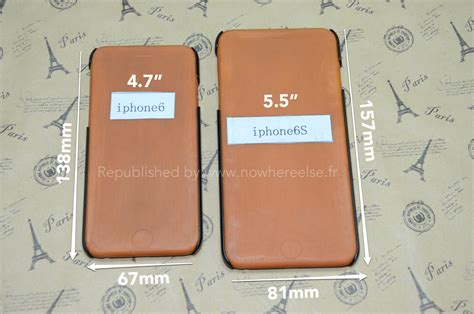 dimensions of iphone 6s leaked reveals 5 5 inch iphone 6s dimensions phonesltd