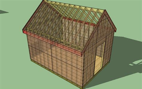 16 x 12 shed plan wall woodworks company