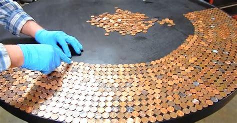 klebefolie für holzmöbel he lines up 35 50 in pennies on a black table 10 hours