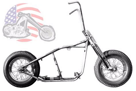 Kraft Tech Chopper Bobber Rigid Hardtail Frame Springer