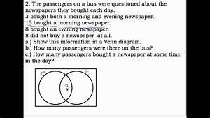 28 Problem Solving Using Venn Diagram