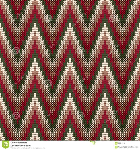 traditional fair isle pattern seamless knitting ornament stock vector 59610418