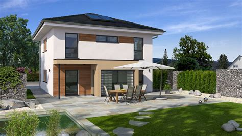 Moderne Häuser Walmdach by Stadthaus Bauen Mit Streif Hausentwurf Und Grundriss