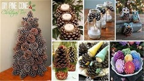 weihnachtsdeko für draussen selber basteln weihnachtsdeko selber machen naturmaterialien tannenzapfen deko basteln und das haus sti
