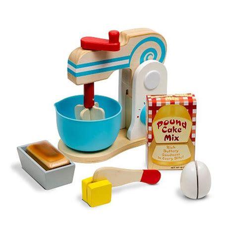 and doug play kitchen accessories doug wooden make a cake mixer set 11 pcs 9741