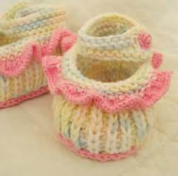 Free Easy Baby Booties Knitting Pattern