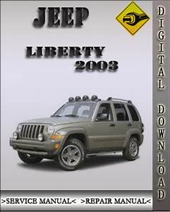2003 Jeep Liberty Factory Service Repair Manual