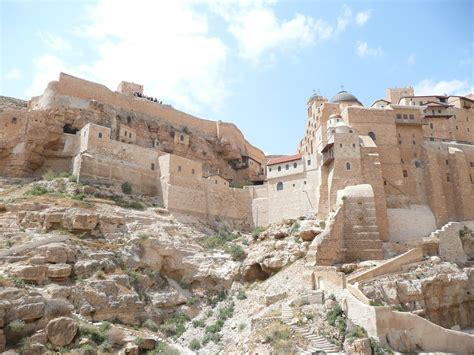 green olive tours blog palestine israel the mar saba monastery