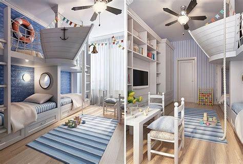 Kinderzimmer Ideen Für Zwei Jungs by Kinderzimmer Mit Motto Schiffahrt F 252 R Zwei Jungs