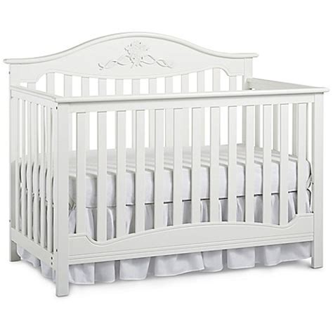 fisher price cribs fisher price 174 4 in 1 convertible crib in snow white