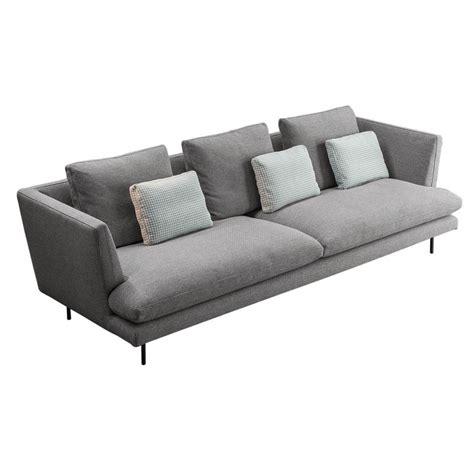 canapé bas canapé lars version bas et haut dossier bonaldo meubles