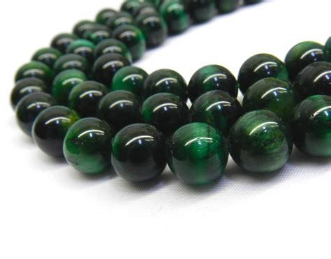 Green Tiger Eye Beads