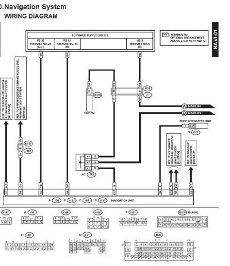 Audio Nav Wiring Diagram Page Subaru Outback