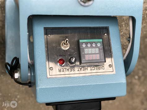 direct heat step pedal sealing machine step sealer impulse sealer  amuwo odofin