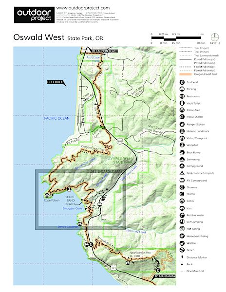 oswald west state park outdoor project