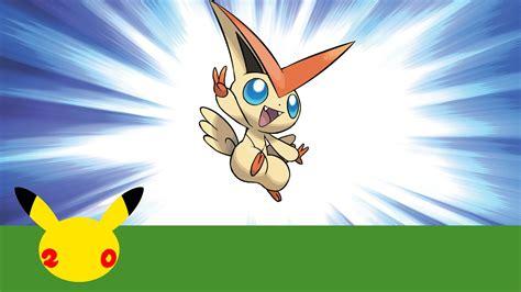 Celebrate #pokemon20 With The Mythical Pokémon Victini