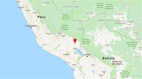 peru hit   magnitude earthquake