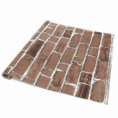 Brick Paper Brique Bricks Embossed Textured Realistic