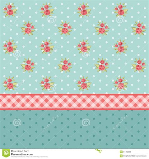 shabby chic style wallpaper vintage pattern 6 royalty free stock photos image 34482038