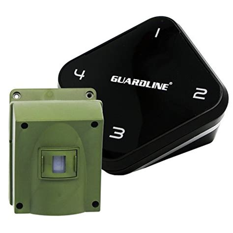 best rated motion sensor security light 1 4 mile long range wireless driveway alarm top rated